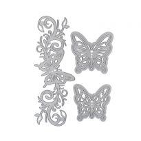 Butterfly Bloom Die Set x 5 dies
