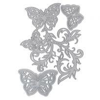 Butterfly Whirl Die Set x 5 dies