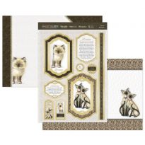 Birman & Siamese Luxury Topper Set