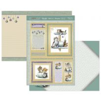 Kittens at Play & Kitty Cats Luxury Topper Set