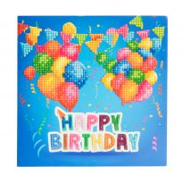 Crystal Card Kit - Happy Birthday