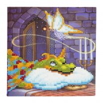 Crystal Card Kit - Dragon & Cookie Fairy