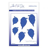 John Next Door Additions Dies - Rose Leaves (6pcs)