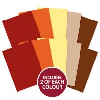 Adorable Scorable A4 Cardstock x 10 sheets - Earths