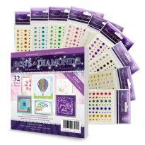 Diamond Sparkles & Dots to Diamonds Papercraft Pad 3