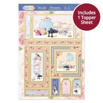 Pick 'N' Mix Topper Sheet - A  Tea-licious Day