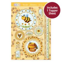 Pick 'N' Mix Topper Sheet - Bee Happy