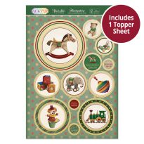 Pick 'N' Mix Topper Sheet - Classic Toys