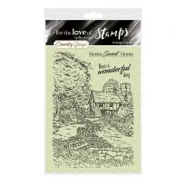 For the Love of Stamps - Cottage Garden