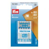 Microtex Machine Needles - 5 x 60-80