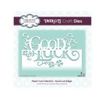 Paper Cuts Collection - Good Luck Edger