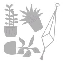 Sizzix Thinlits Die Set - Hanging Planter by Olivia Rose