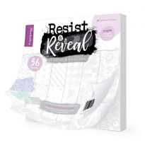 "Resist & Reveal 8"" x 8"" Clear Foiled Pad"