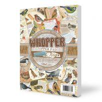 Watercolour Wings  Whopper Topper Pad