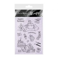 For the Love of Stamps - A Mice Birthday