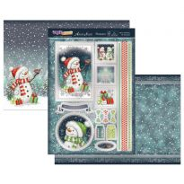 Merry Christmas Mr Snowman Topper Set