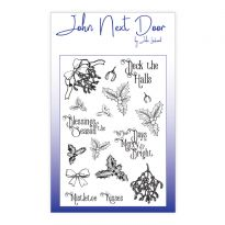 John Next Door A6 Clear Stamp - Deck the Halls