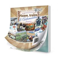The Square Little Book of Planes, Trains & Automobiles