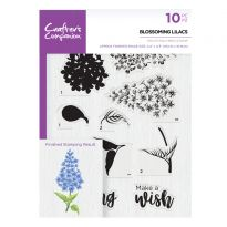 CC- A5 Photopolymer Stamp - Blossoming Lilacs
