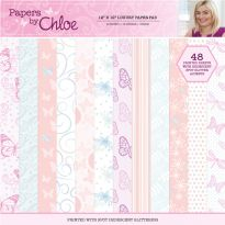 "Papers by Chloe - 12"" x 12"" Luxury Paper Pad"