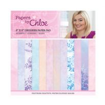 "Papers by Chloe - 6"" x 6"" Designer Printed Paper Pad"