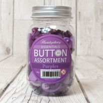 Hunkydory Button Assortment - Purples