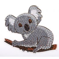 Crystal Art Motif Kit - Koala Bear 9cm x 9cm