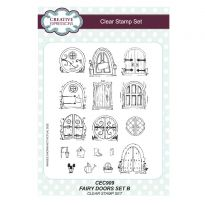 Fairy Doors Set B - A5 Clear Stamp Set