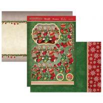Joyeux Noel Luxury Topper Set