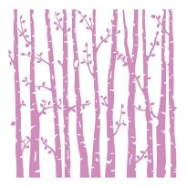 "Crafter's Companion - 6""x 6"" Embossing Folder - Spring Forest"