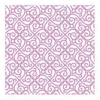 "Crafter's Companion - 6""x 6"" Embossing Folder - Trellis Swirls"