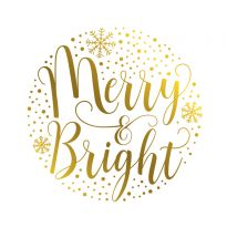 Gemini - Foil Stamp Die - Expressions - Merry and Bright