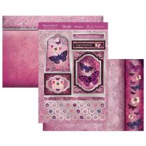 Blushing Butterflies Luxury Topper Set