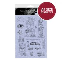 Snow Much Fun! - Edge It  A4 Stamp Set