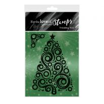 For the Love of Stamps - Twinkling Tree A7 Stamp Set