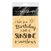 For the Love of Stamps - Sunshine & Rainbows