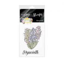 For the Love of Stamps - Mini Stamps - Hyacinth
