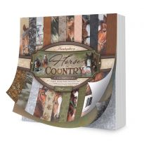 """Horse & Country 6"""" x 6"""" Paper Pad"""
