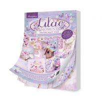 Lilac Moments A5 Paper Pad