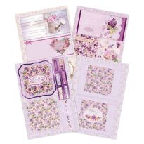 Lilac Moments - Notelet Set