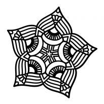 Creative Expressions Mask - Point Mandala