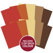 Matt-tastic Adorable Scorable A4 Cardstock x 10 sheets - Earths