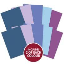 Matt-tastic Adorable Scorable A4 Cardstock x 10 sheets - Blues