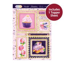Pick 'N' Mix Topper Sheet - Delightful Desserts
