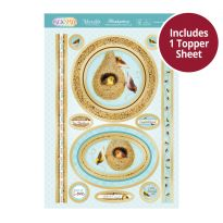 Pick 'n' Mix Topper Sheet - Home, Tweet Home
