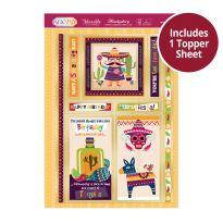 Pick 'n' Mix Topper Sheet - Let's Fiesta!