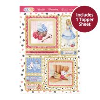 Pick 'N' Mix Topper Sheet - Alice's Wonderland
