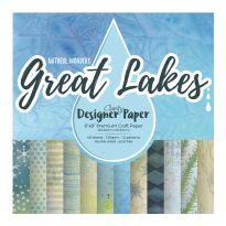 "Great Lakes 8"" x 8"" Clarity Designer Paper"