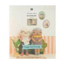 Ricorumi Pattern Book - Crazy Cute Family