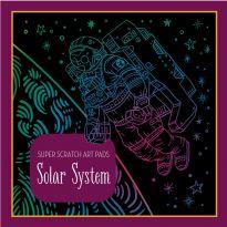 Solar System Scratch Art Pad